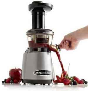 Omega VRT400HD vertical masticating juicer