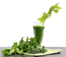 Green Juice contains chlorophyll